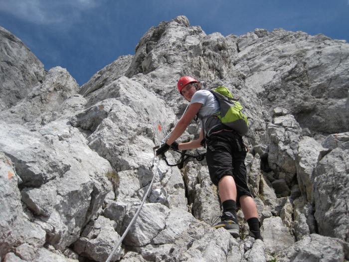 Klettersteig Ellmauer Halt : Ellmauer halt