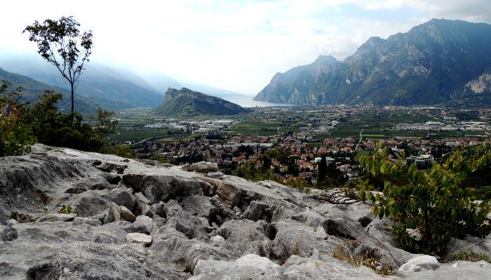 Klettersteig Burg : Colodri klettersteig bei arco am gardasee auf den berg