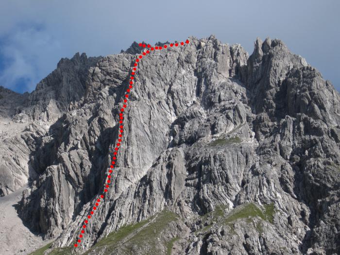 Klettersteig Kanzelwand : Erlebnis klettersteig kanzelwand kleinwalsertal teil youtube