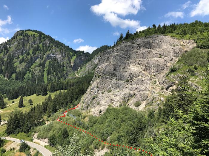 Klettersteig Schwarzwald : Ostrachtaler klettersteig